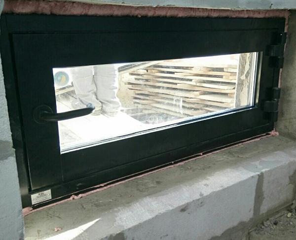 Противопожарное окно открывающееся